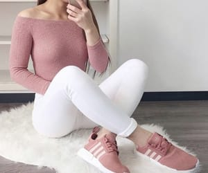 adidas, beauty, and casual image