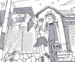 anime, anime couple, and karakai jouzu image