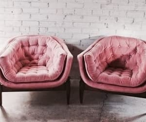 interior, pink, and home image