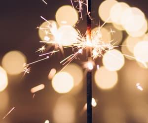 beautiful, fireworks, and light image