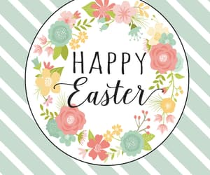april, easter, and happy easter image