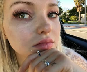 blonde, dove cameron, and girl image