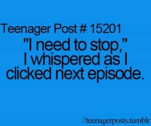 teenager post, true, and episode image