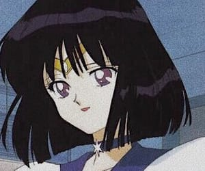 anime, sailor moon, and sailor saturn image