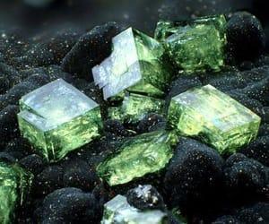 green, magic, and stone image