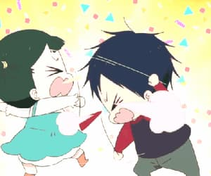 gif, gakuen babysitters, and kamitani taka image