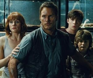 film, chris pratt, and jurassic world image