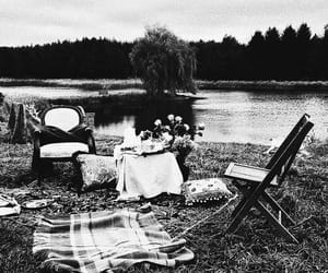 old, picnic, and glammour image