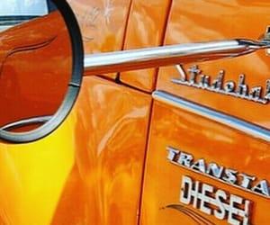 theme, car, and orange image