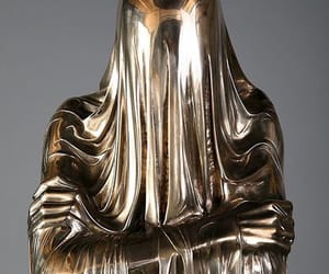 gold, art, and sculpture image