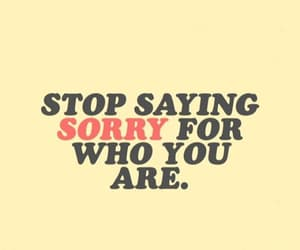 quotes and sorry image