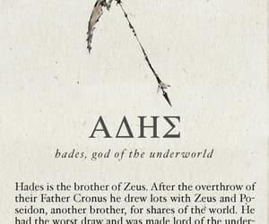 hades, mythology, and percy jackson image