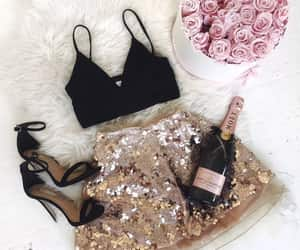 fashion, flowers, and party image