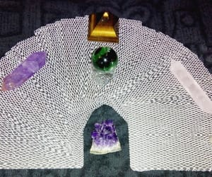 amethyst, crystals, and divination image