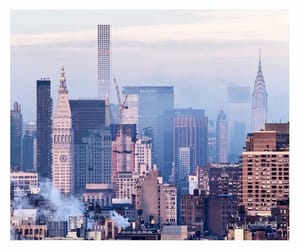 blue, city, and new york image