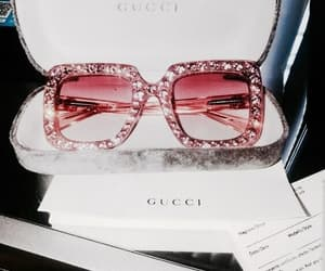 gucci, luxury, and sunglasses image