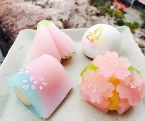 sweets, japanese, and pink image