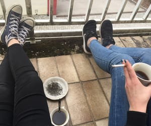 chill, ​bestfriend, and coffee&cigaretts image