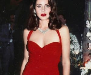 lana del rey, red, and Queen image