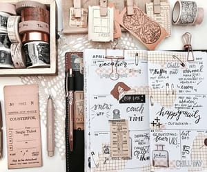 journal, monthly, and planner image
