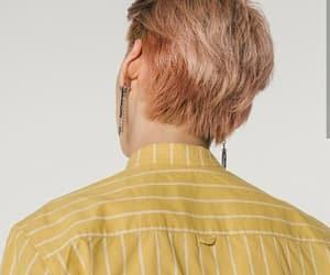 boy ulzzang korea, pastel soft artsy, and yellow pink pretty image