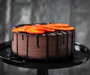 dark chocolate cheesecake image