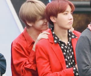 bts, vhope, and jhope image