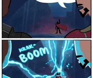Marvel, thors hammer, and marvel funny image