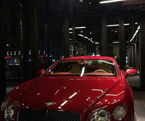 car, red, and Bentley image