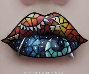 art, make-up, and awesome image