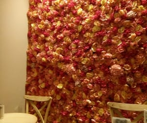 coffee shop, decoration, and roses image