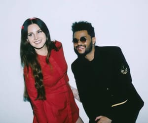 lana del rey, the weeknd, and lust for life image