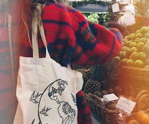 autumn, market, and winter image