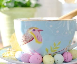 bird, color, and easter image