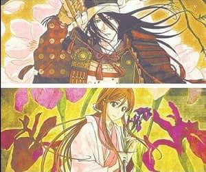 bleach, byakuya kuchiki, and ichigo kurosaki image