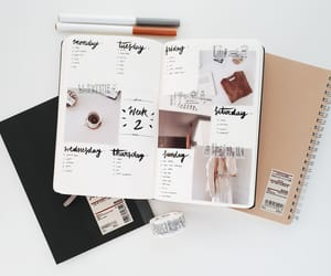 aesthetic, bullet, and planner image