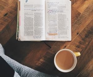 believe, bible, and coffee image