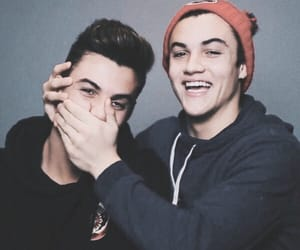 grayson dolan, ethan dolan, and dolan twins image