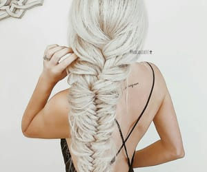 aesthetic, braids, and hairstyle image