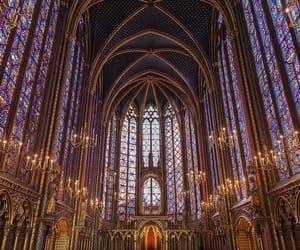 church, paris, and sainte chapelle image