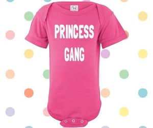 baby clothes, cute baby girl, and princess baby image