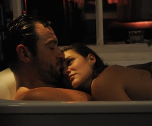 couple, love, and bath image