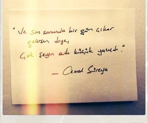 qoutes, sevmek, and cemal süreya image