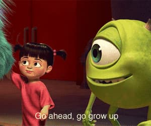 cute, boo, and monsters inc image