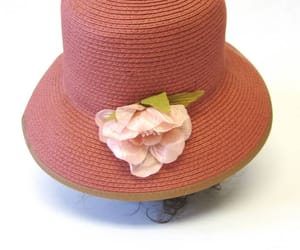 50s, mauve, and red hat image