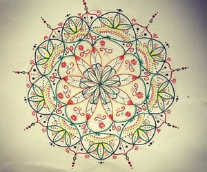 colors and mandala image