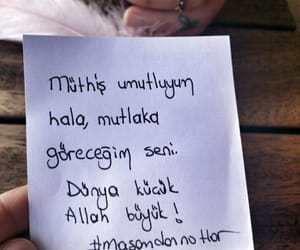 qoutes, sevmek, and turk image