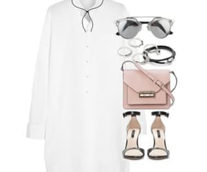 clothes, purse, and skirt image