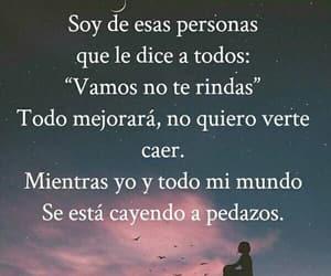 texto en fotos español, felicidad, and triste image