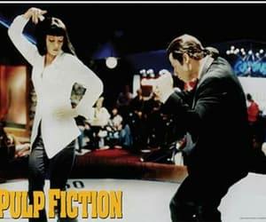 pulp fiction, dance, and John Travolta image